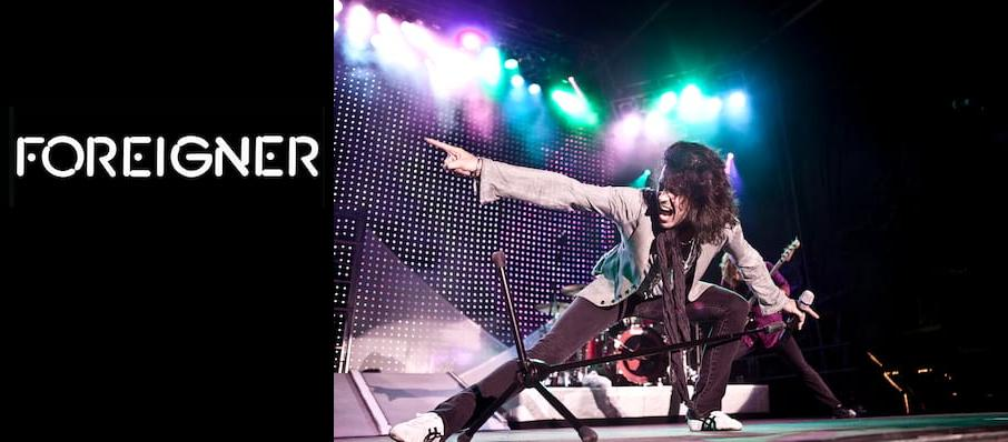 Foreigner at CNU Ferguson Center for the Arts