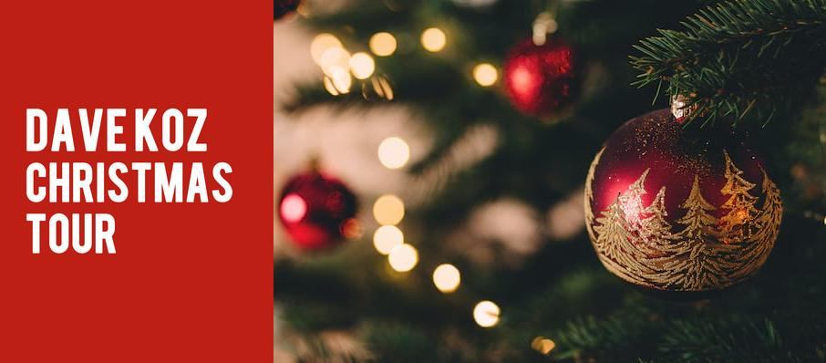 Dave Koz Christmas Tour at CNU Ferguson Center for the Arts