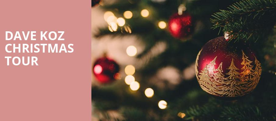 Dave Koz Christmas Tour, CNU Ferguson Center for the Arts, Newport News