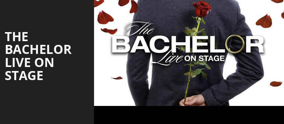 The Bachelor Live On Stage, CNU Ferguson Center for the Arts, Newport News